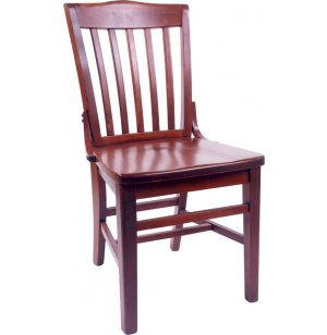 Classic Wooden Library Chair