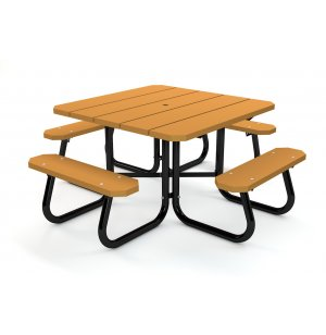 Square Resin Picnic Table