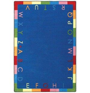 Rainbow Alphabet Classroom Rug
