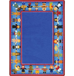 Children of Many Cultures Classroom Rug