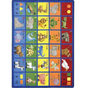 Animal Phonics Classroom Rug