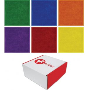Joy in a Box Classroom Carpet Squares - Set of 24