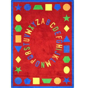 First Lessons Rectangle Carpet