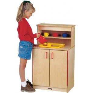 JNT Wooden Play Kitchen Cupboard