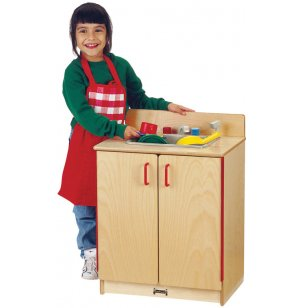 JNT Wooden Play Kitchen Sink
