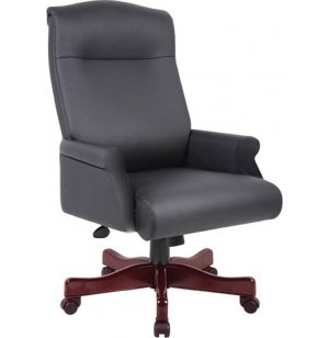 Executive Leather High Back Office Chair