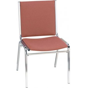 XL Fabric Side Stacking Chair