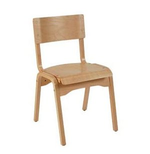 Educational Edge Natural Wood School Chair
