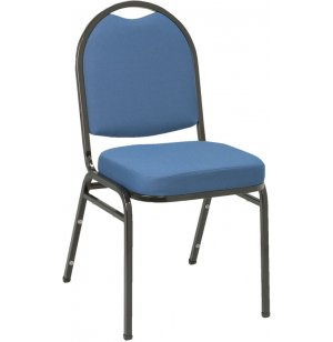 Dome Top Fabric Stacking Chair