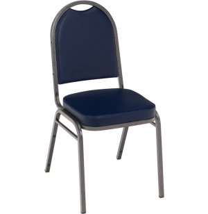 Dome Top Vinyl Stacking Chair