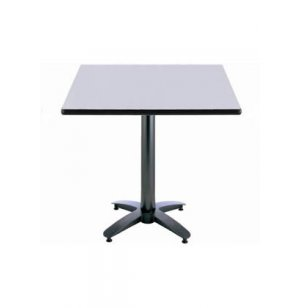 Rectangular Cafe Table - Arched Base