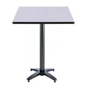 Rectangular Bar-Height Cafe Table - Arched Base