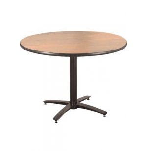 Round Cafeteria Table - Arched Base