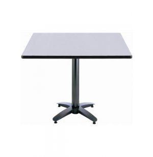 Square Cafeteria Table - Arched Base