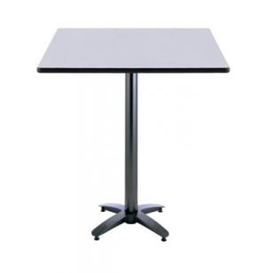 Square Counter-Height Cafeteria Table, Arched Base