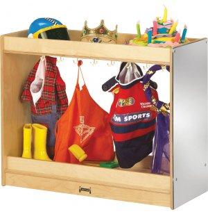 Preschool Dress Up Storage Closet