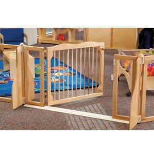 KYDZ Suite Wooden Preschool Safety Gate KYD-1550 ...
