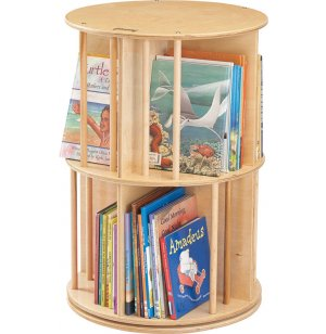 Book-Go-Round Preschool Book Display Carousel