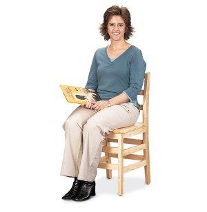 Ladderback Wooden School Library Chair
