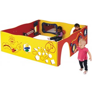 Learn-a-Lot Play Station & Sensory Wall