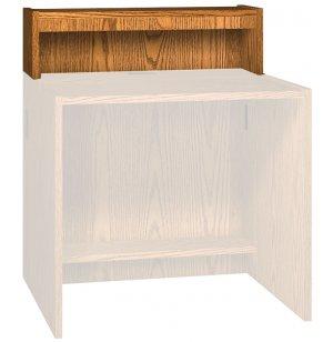 Modular Library Circulation Desk - Raised Counter, 36