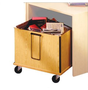 Glacier Library Book Cart