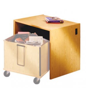 Glacier Modular Library Circulation Desk - Book Return
