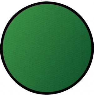 Solid Green Round Carpet