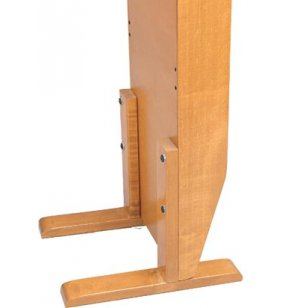2 Leg Base for Waterfall Magazine Racks
