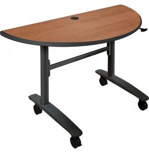 Half-Round Lumina Flipper Table