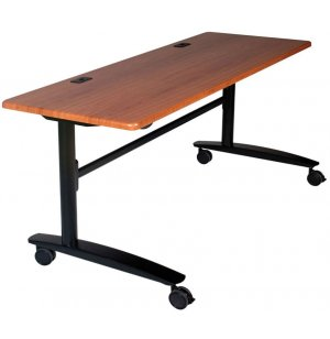 Lumina Flipper Table - Black Cherry Top