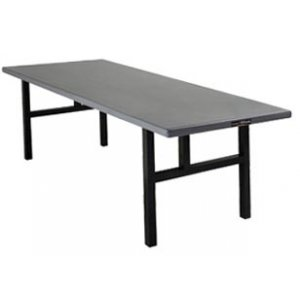 Aluminum Rectangular Folding Table - H Legs