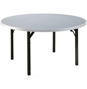 Aluminum Round Folding Table with 4 Legs