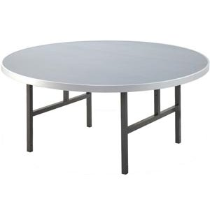 Aluminum Round Folding Table with H Legs