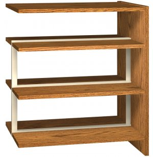 42 Adder- 6 Shelves for Double Faced Shelf Units