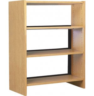 42in Base w/3 Shelves for Single Faced Shelf Unit