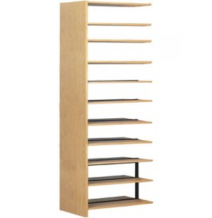 60 Adder w/8 Shelves for Double Faced Shelf Unit