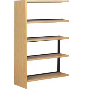 60 Adder w/4 Shelves for Single Faced Shelf Unit