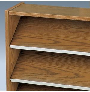 Display Shelf For Library Bookcase