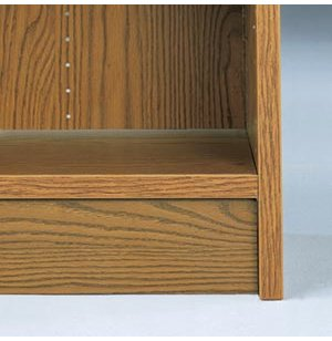 Toe Board for Library Bookcase
