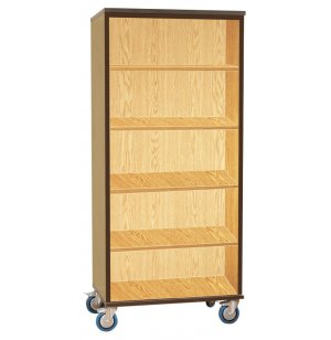 Mobile Storage Cabinet - Open