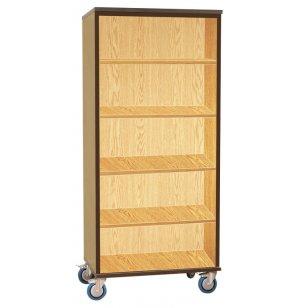 Mobile Storage Cabinet - Open