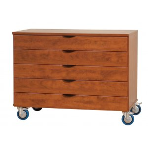 Mobile Storage Unit - 5 Drawers, 48