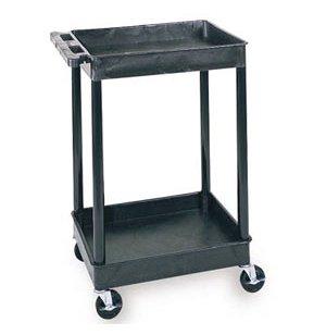 Heavy Duty AV Utility Cart with 2 Shelves