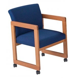 Classic Arm Chair with Casters - Gr. 3 Fabric