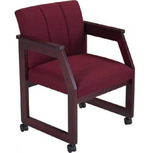 Lesro Angle Arm Chair with Casters - Gr. 3