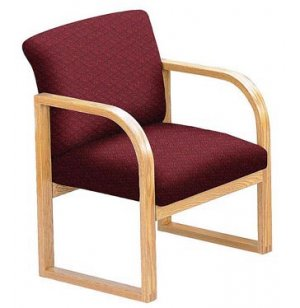 Contour Full Back Guest Chair - Grade 3