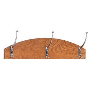 Contemporary Coat Rack with 3 Hooks