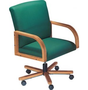 Contour Full Back Office Chair with Swivel Base