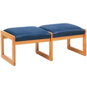 Contour 2-Seat Bench - Upgraded Fabric